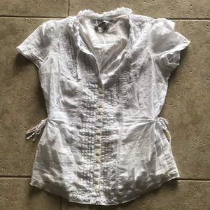 Banana  Republic blouse 👚 XS
